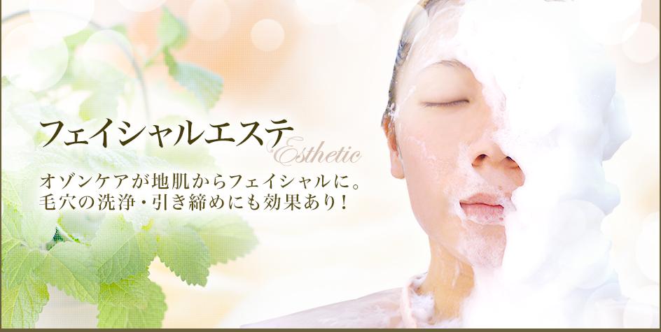 フェイシャルエステ オゾンケアが地肌からフェイシャルに。毛穴の洗浄・引き締めにも効果あり!